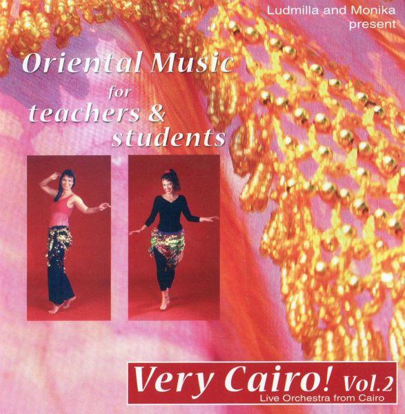 Very Cairo! - Vol. 2 Oriental Music for Teachers & Students, CD & MP3