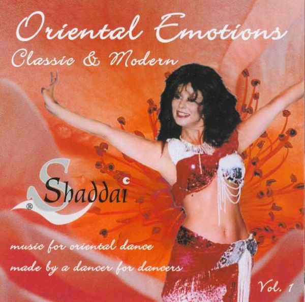 Oriental Emotions: Music for Oriental Dance, CD